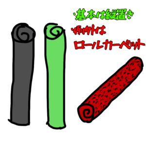 ロール材料 保管方法