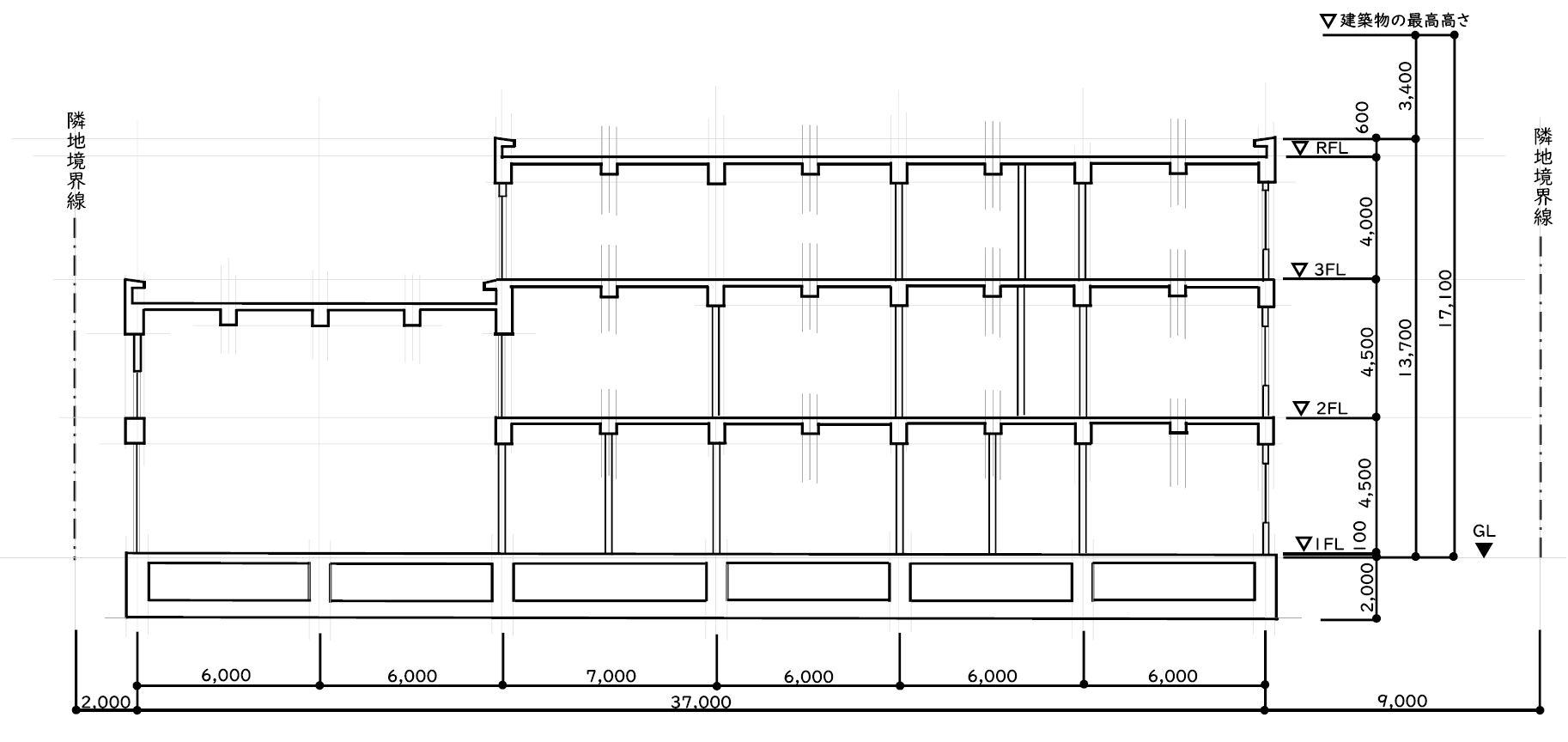 断面図 書き方 手順 建築士