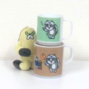 現場猫マグカップ 5月発売